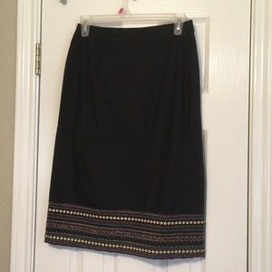 BCBG beaded skirt